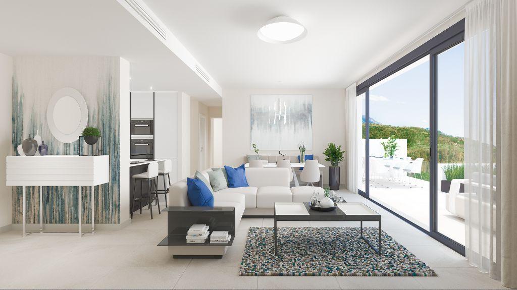 Opnieuw een schitterend appartementencomplex in dit zeer bekende golfresort in La Cala de Mijas.PL100