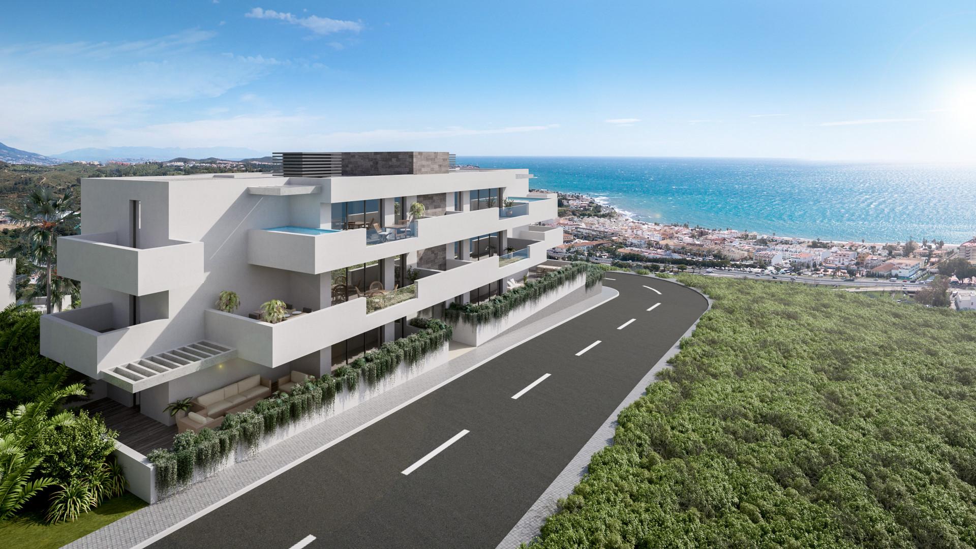 Nieuwbouw appartementen te koop in La Cala de Mijas. PL21