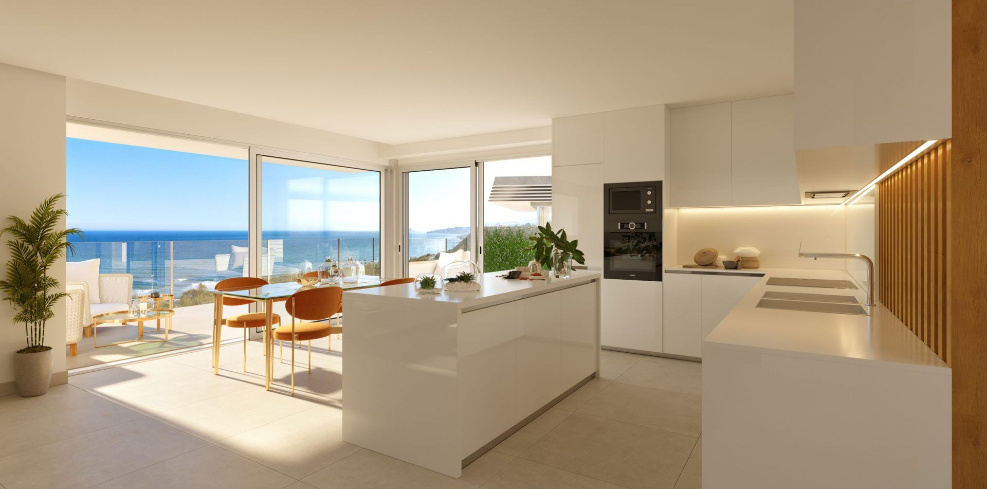 Bijzonder mooi resort met geschakelde woningen in Mijas Costa. PL112