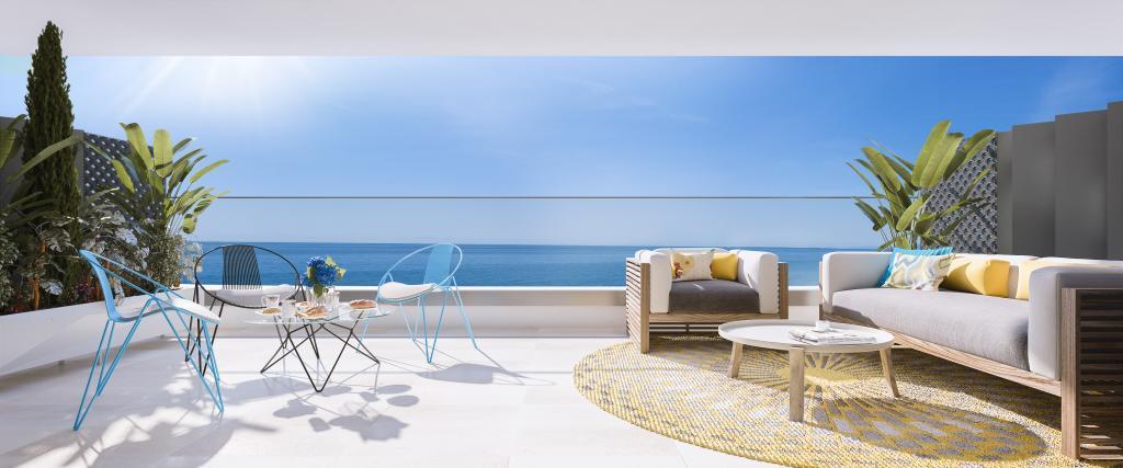 Nieuwbouw appartementen te koop aan de kust van Torrox Costa.PL122