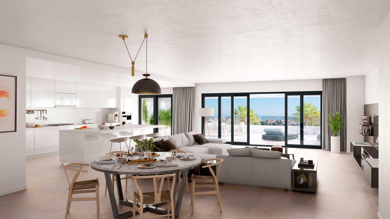 Uniek gelegen appartementen in Estepona.PL126