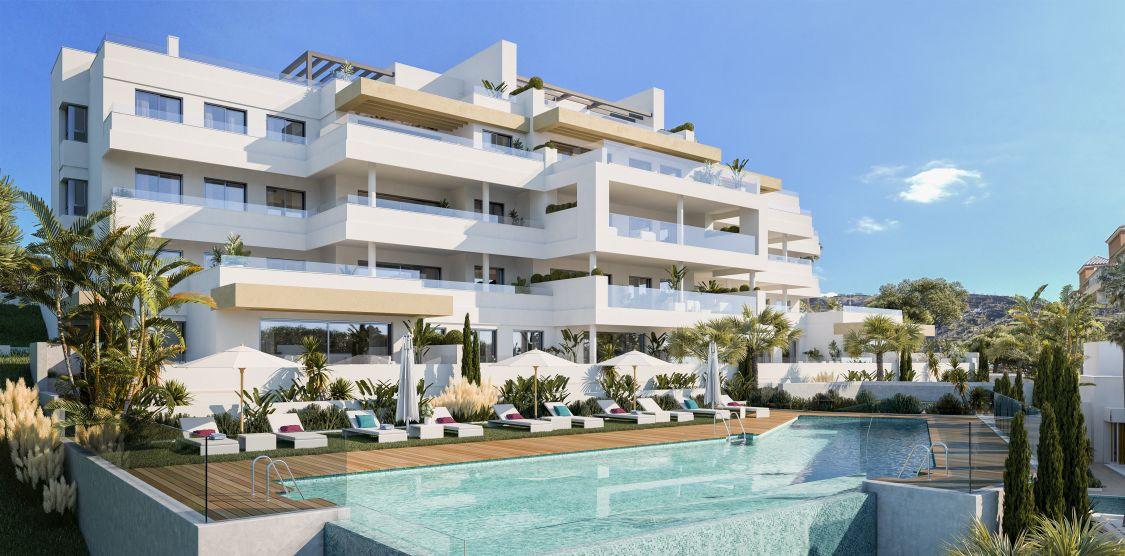 Estepona. Nieuwe appartementen en penthouses, ook met zeezicht. PL57