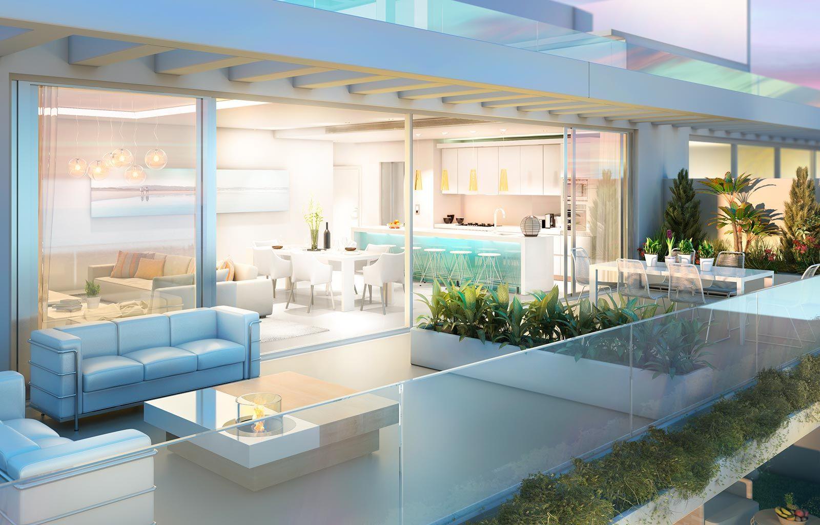 Spectaculaire nieuwbouw appartementen in Benalmadena.PL131