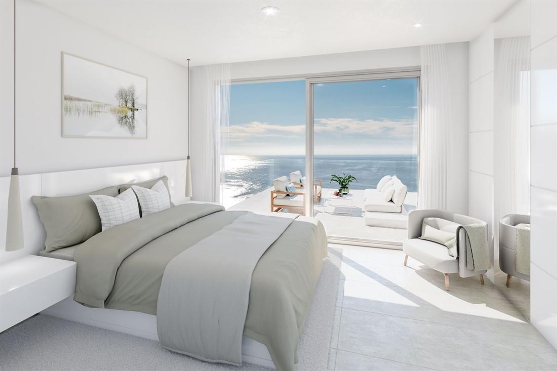Appartementen met spectaculair zeezicht in Nerja.PL133; UITVERKOCHT!