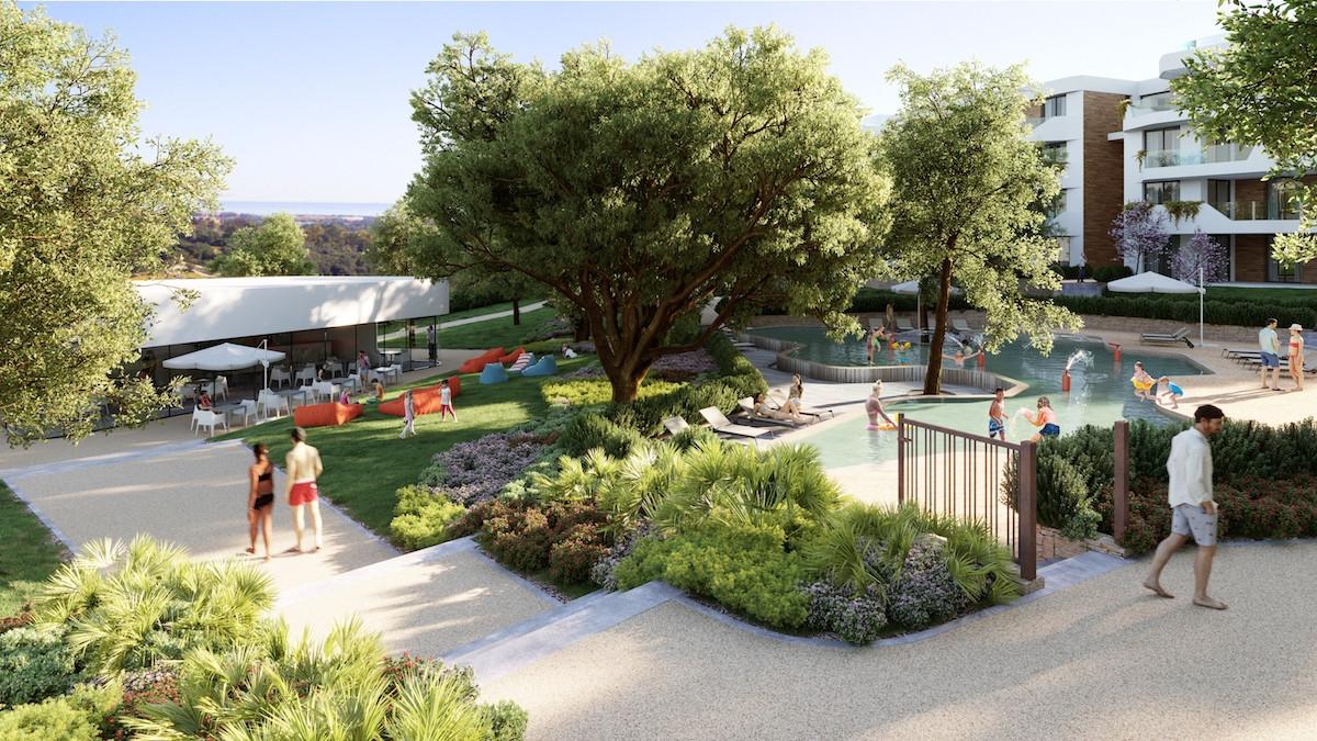 Exclusief wonen in een luxe resort midden in het groen in Sotogrande.PL146