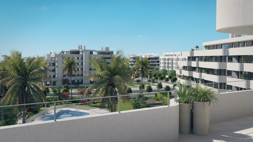 Beachfront apartments perfectly located in Torremolinos.PL154
