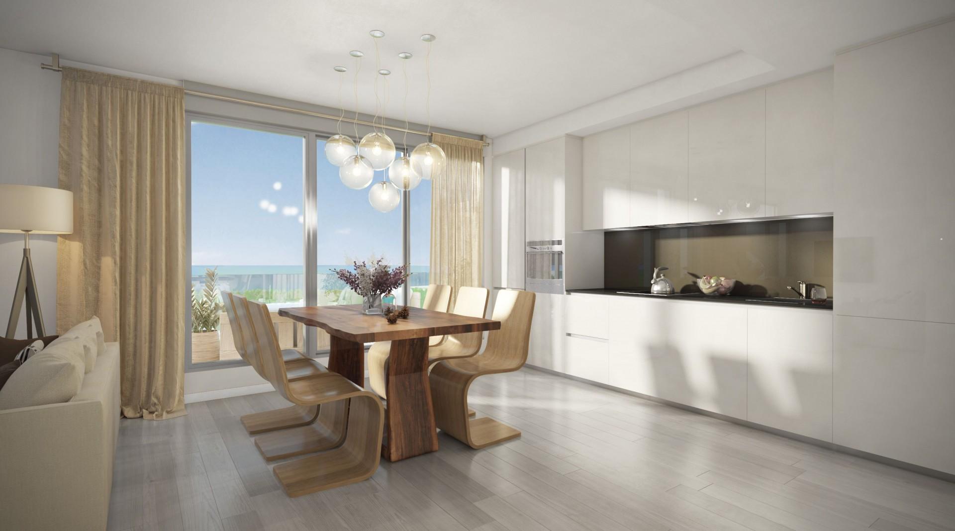 Nieuwe appartementen en townhouses te koop aan de New Golden Mile in Estepona PL.27