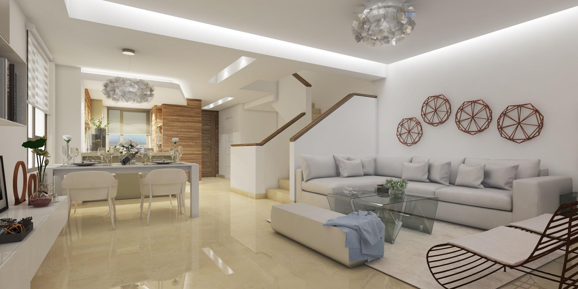 Geschakelde villa's te koop in La Cala PL.42