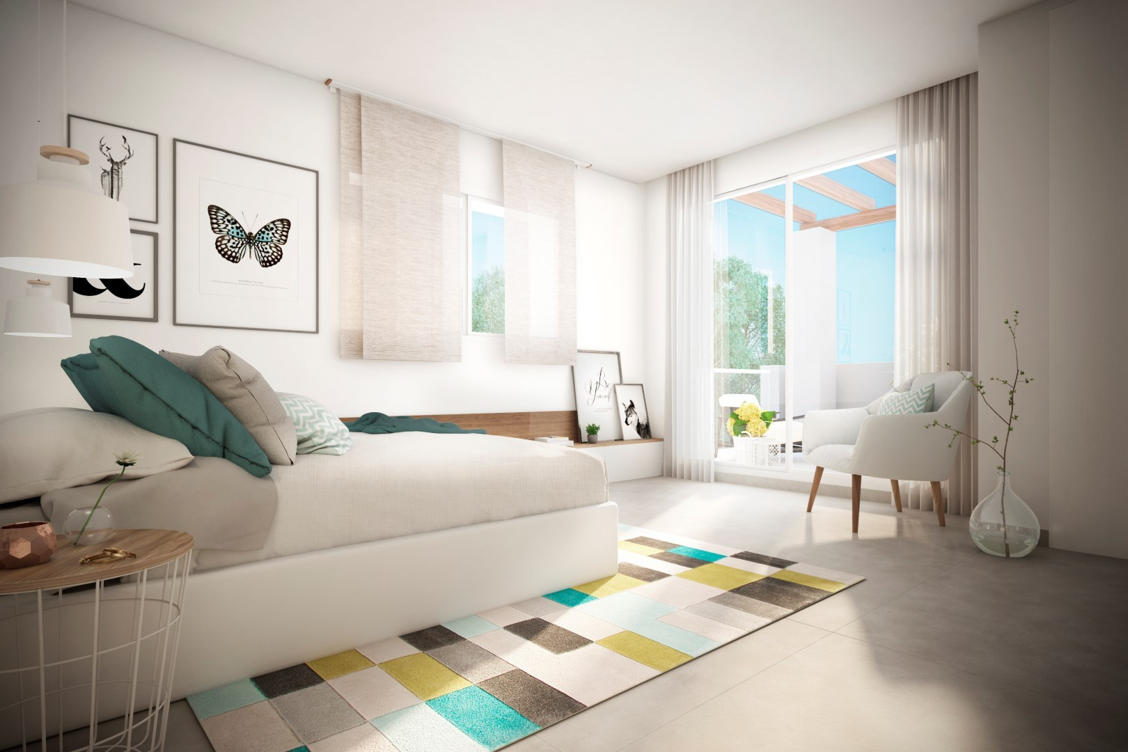 Nieuwbouw appartementen te koop in Benalmadena. Dit is nog eens uitzicht! PL 50