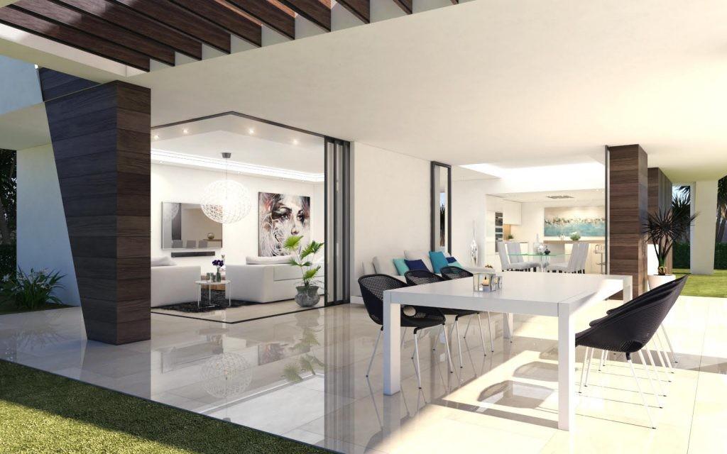 Kleinschalig luxe nieuwbouw villaproject Estepona. PL54
