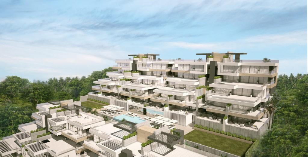 Estepona. Nieuwe appartementen en penthouses met zeezicht. PL57