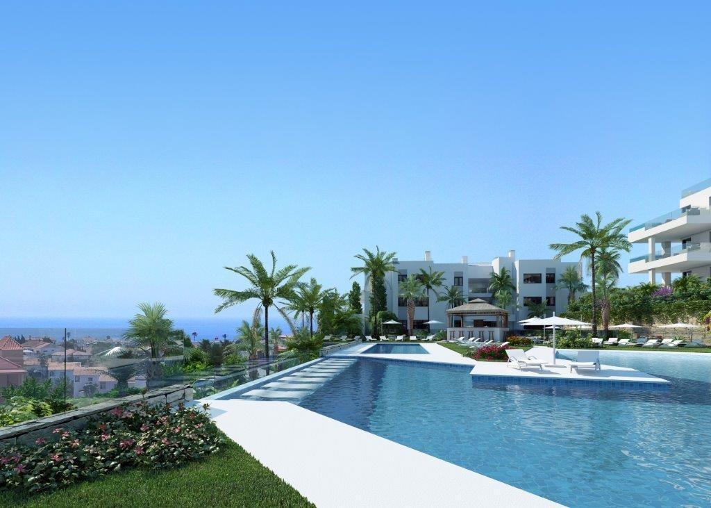 Appartementen en penthouses met uitzicht op zee en Fuengirola. PL60