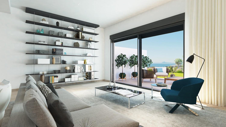 Nieuw project van stijlvolle en betaalbare townhouses vlakbij Sotogrande. PL64