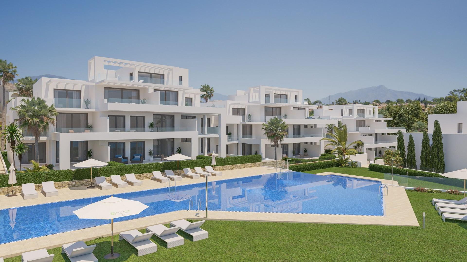 Nieuw project met moderne en exclusieve appartementen en penthouses in Estepona. PL76