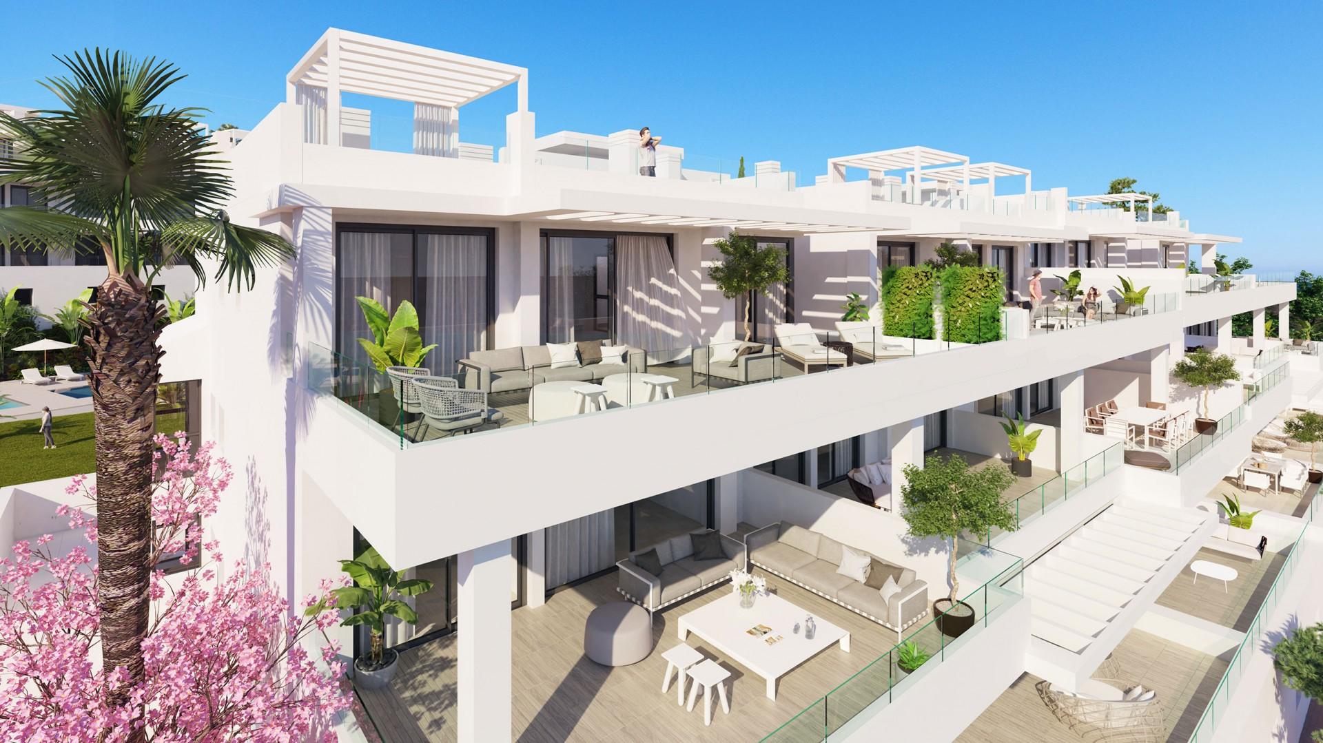 Meest recente intro nieuwbouw appartementen in Estepona West.PL78