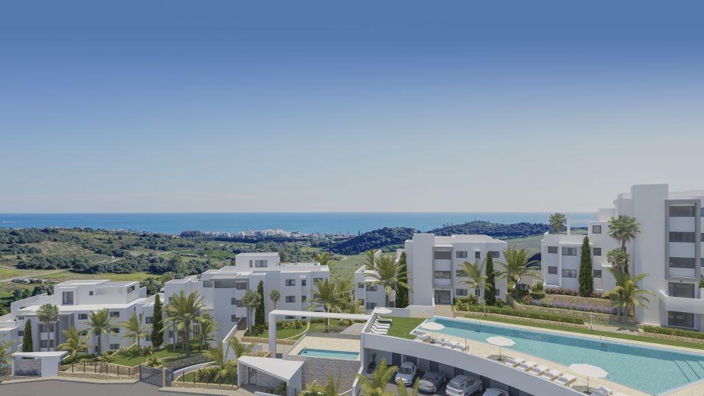 Nieuwbouw appartementen en penthouses op toplocatie in Estepona.PL82