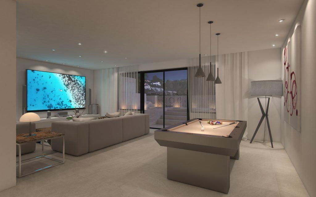 Nieuwe villa's met Scandinavisch ontwerp aan de New Golden Mile.PL86