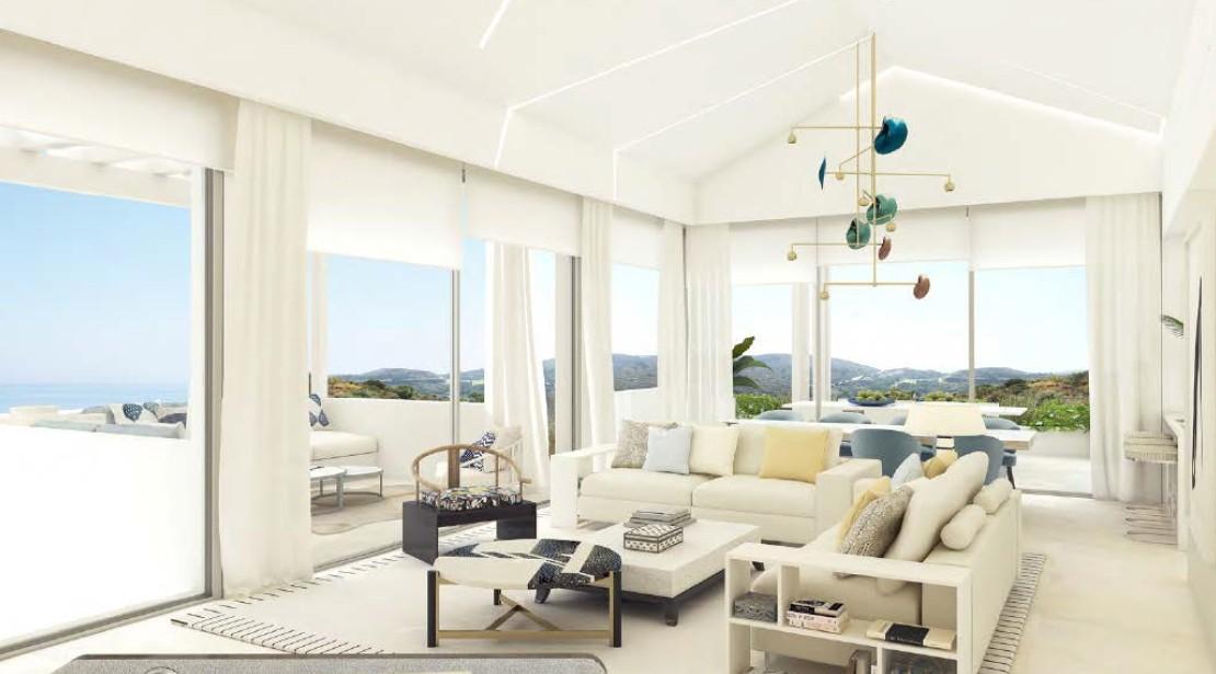 Nieuw luxe resort met villa's en zeer luxe appartementen in Benahavis.PL89